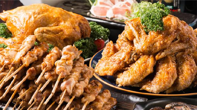 隠れ家個室×本格焼き鳥×秘伝手羽先唐揚げ専門店 鶏の久兵衛 - メイン写真: