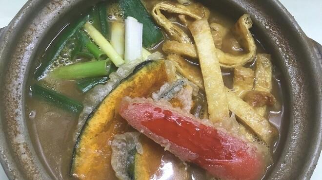 三国一 - 料理写真:カレー煮込みうどん