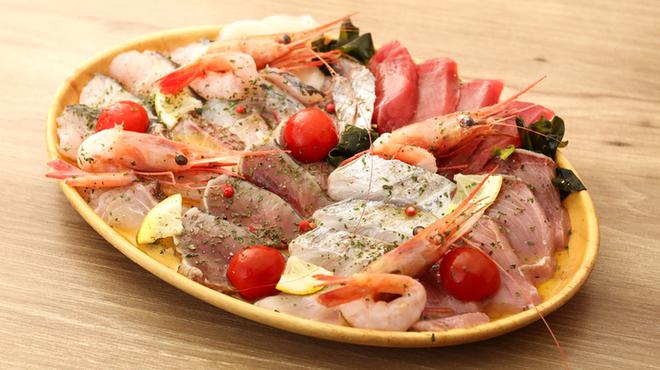 白金魚 バル 個室 - 料理写真: