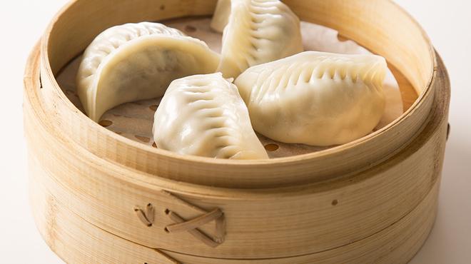 南翔饅頭店 - 料理写真:韮入り蒸し餃子