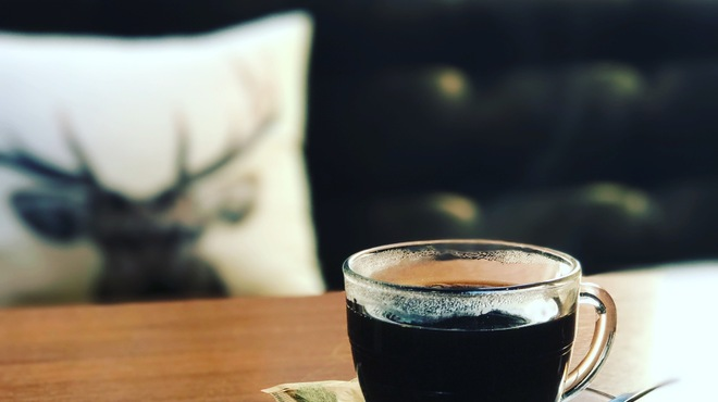 cafe maru - ドリンク写真:当店はサイフォンコーヒーです