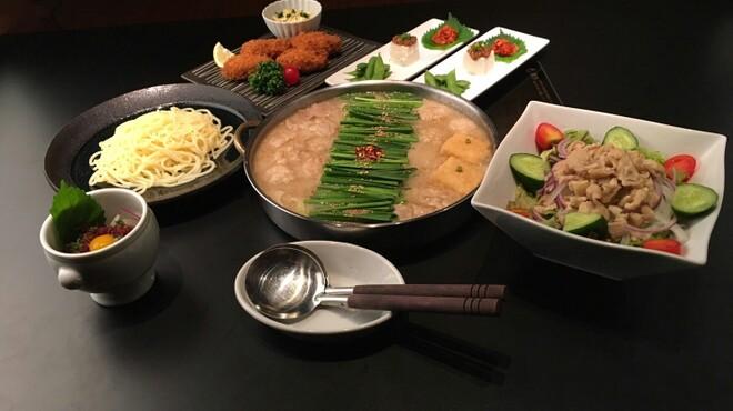 博多もつ鍋 たいら - 料理写真:忘年会コース