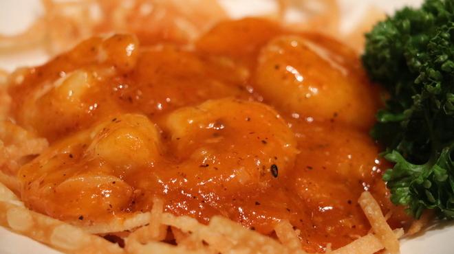 龍福小籠堂 - 料理写真:海老のチリソース煮