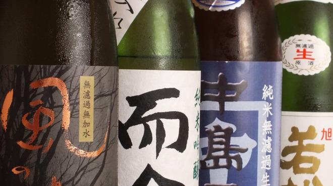 鳳 - ドリンク写真:頼りにしている蔵元からの地酒