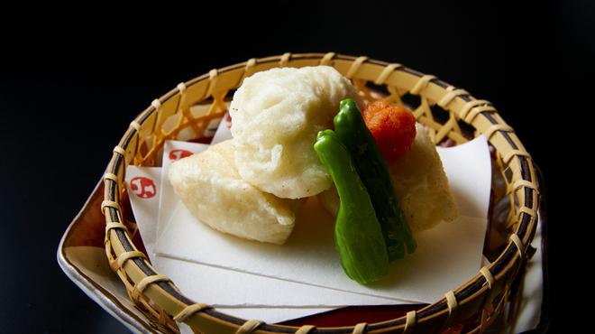 臼杵ふぐ 山田屋 - 料理写真:白子天ぷら