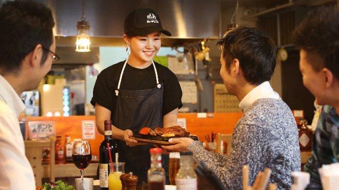 大衆ステーキとハンバーグ炭火焼専門店 ミンチェッタ - メイン写真: