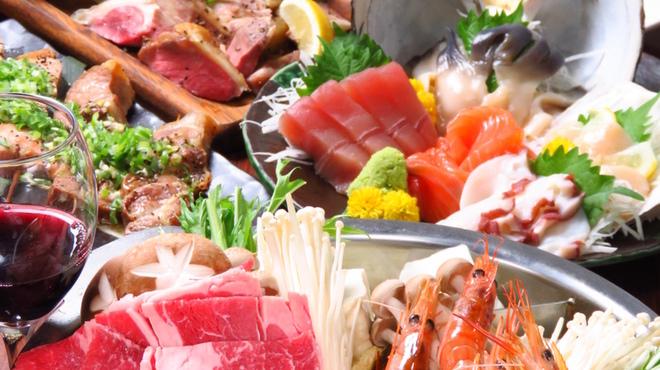 Creation Dining JINGA - 料理写真: