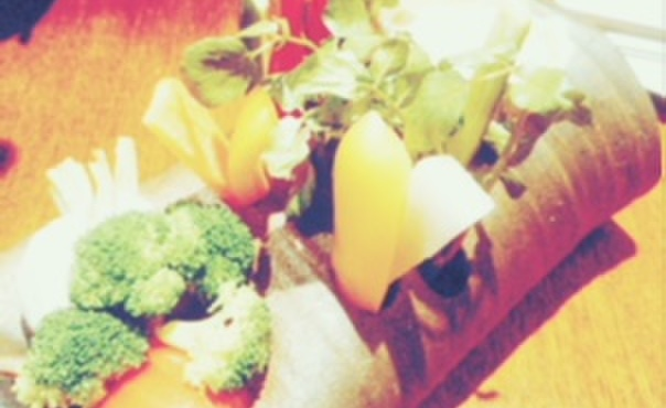 仕事馬 - 料理写真:三浦野菜のバーニャカウダ