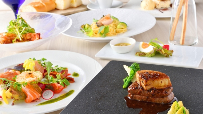 リストランテ アズーリ - 料理写真:Dinner/6,800円(税別)※イメージ