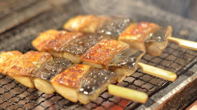 ごっつり - 料理写真:八戸前沖さば串焼