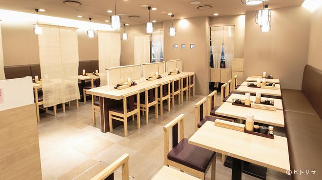 横浜なかや - 内観写真:横浜駅近くジョイナスに新しくオープン!