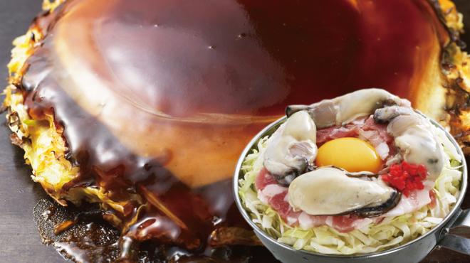 鶴橋風月 - 料理写真:◆冬限定◆「かきぶた玉」冬といえば牡蠣の季節!大人気のお好み焼き