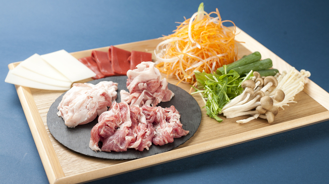 YUGEYA - 料理写真:和豚もちぶたセット