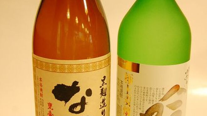 味太助 - ドリンク写真:焼酎ボトル各種