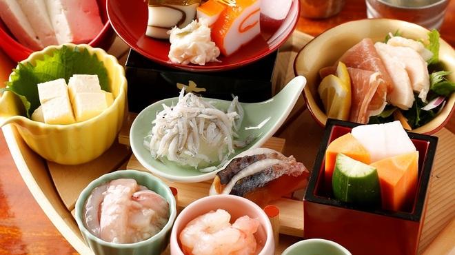 囲炉裏料理と日本酒スローフード 方舟 - 料理写真:方舟八彩
