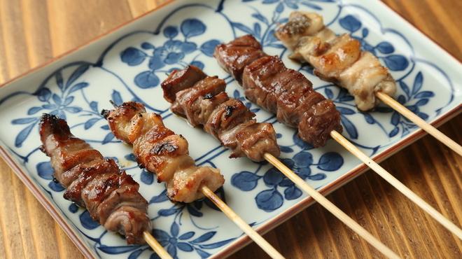 牛ホルモン串 吉村 - 料理写真: