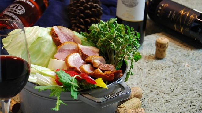 romantic diner loco - 料理写真:豪華に鴨とクレソンの鍋