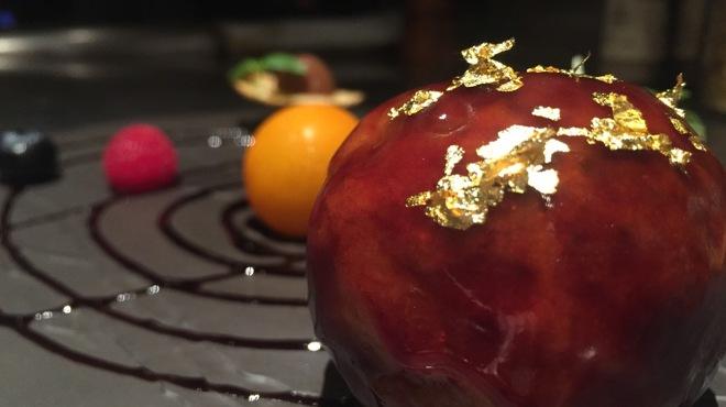 RAKUSUI - 料理写真:プラネタリウムのような酢豚
