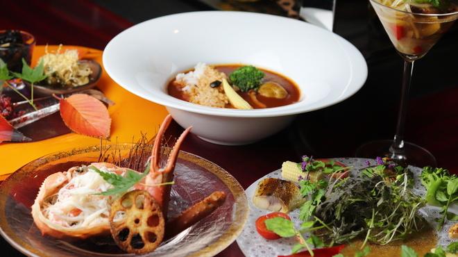 ワイン懐石 銀座 囃shiya - 料理写真: