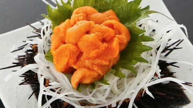 雲丹と海老の専門店 魚魚魚 - メイン写真: