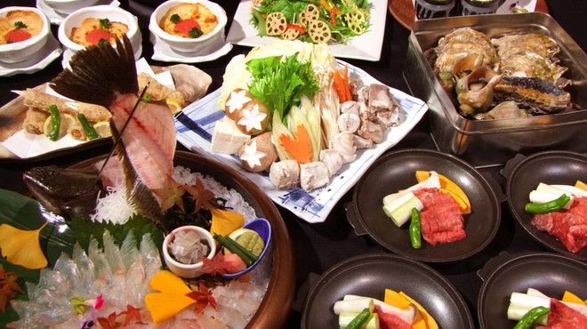 ざうお - 料理写真:冬の宴会4500円コース