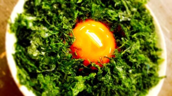 串カツ さくら - 料理写真:絶品!!卵かけごはん