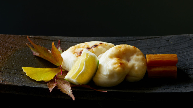 臼杵ふぐ 山田屋 - 料理写真:焼白子