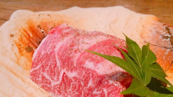 北新地 すがはら - 料理写真:ハラミステーキ