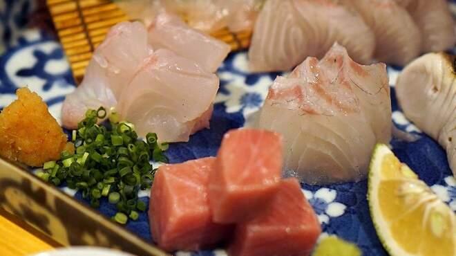ぐりこ - 料理写真:刺身の盛り合わせ