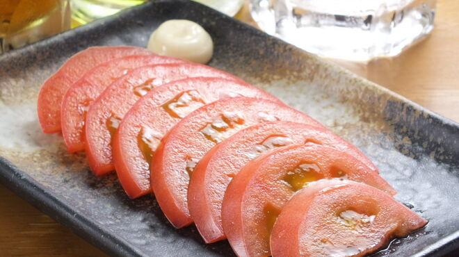 串かつじゃんじゃん - 料理写真:トマトスライス
