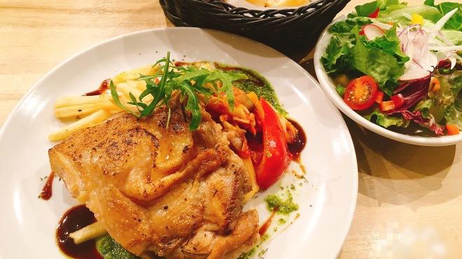 イタリアン&バール アルバータ - 料理写真:ハーブチキンのロースト(ランチ)