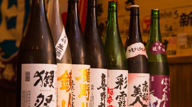 海鮮大衆酒場 二代目うごう - ドリンク写真:季節の日本酒ご用意ございます