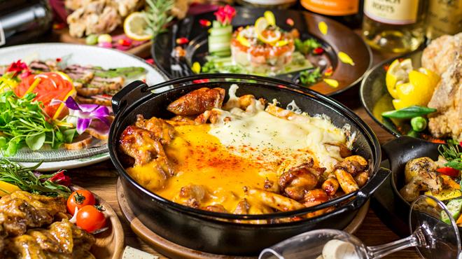 個室肉バル×チーズタッカルビ 肉タリアン - メイン写真: