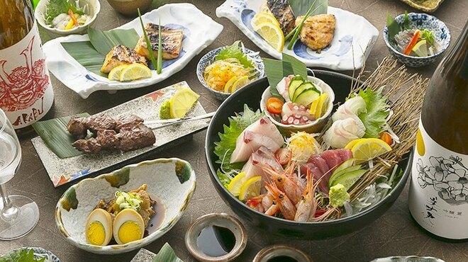 肉×さかな×日本酒 照 - 料理写真: