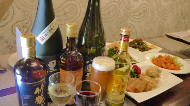 カミノハナ - ドリンク写真:飲み放題のお酒