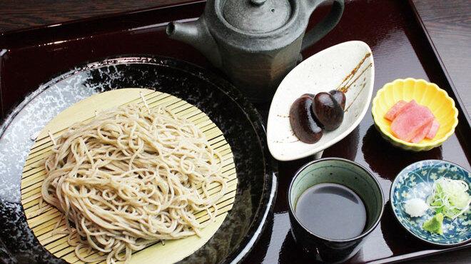みよ田 - 料理写真:奈川在来そばセット