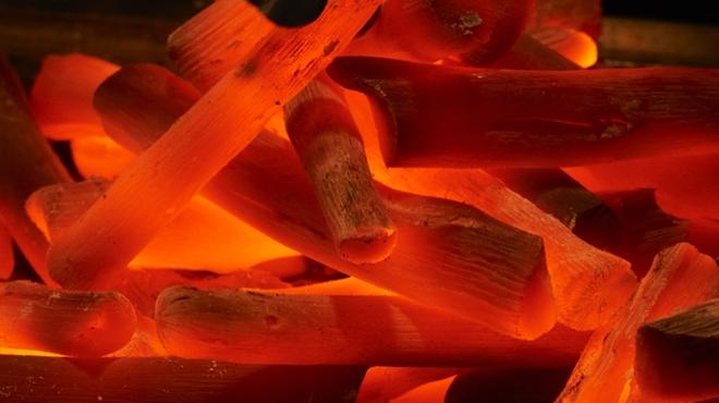 銀座Toriya Premium - 料理写真:紀州備長炭で高温で焼き上げ旨みを閉じ込めます。
