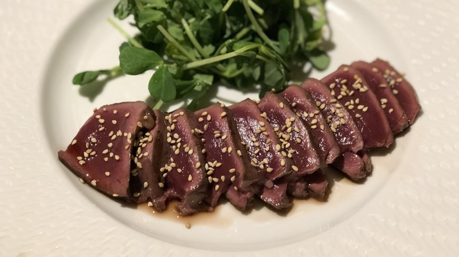 馬肉グリル&ワイン ゆう馬 - 料理写真:ハツのグリル