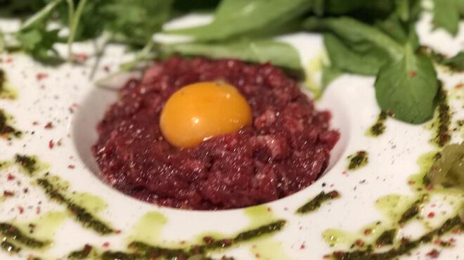馬肉グリル&ワイン ゆう馬 - 料理写真:カイノミのタルタルステーキ