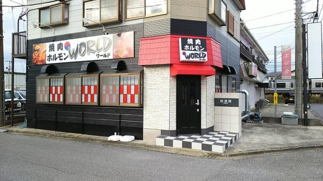 焼肉ホルモン焼き 居酒屋ワールド - メイン写真:
