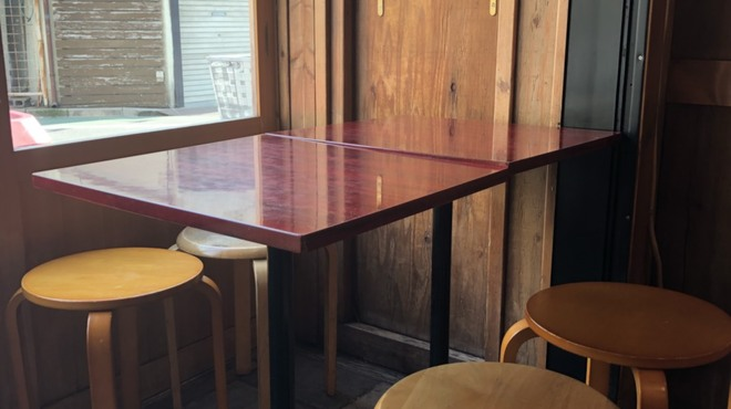 ひなた - 内観写真:テラス風のテーブル席