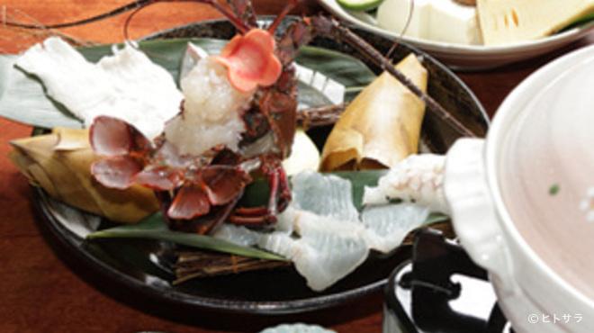 浦正鮨 - 料理写真:海鮮しゃぶしゃぶ