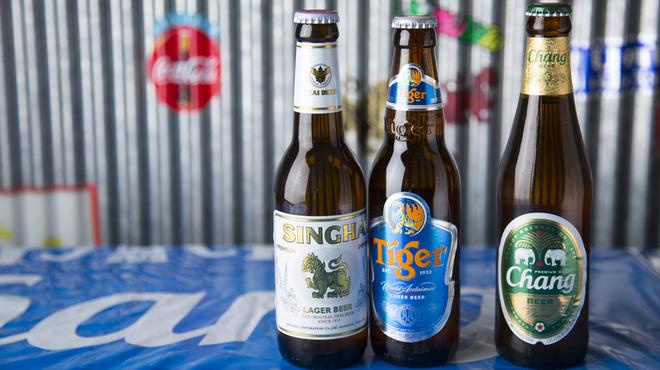 東桜パクチー - ドリンク写真:エスニック料理によく合うビール