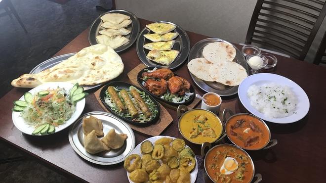 インド料理ラソイ - 料理写真:食べ放題コース 3,000円(税込)