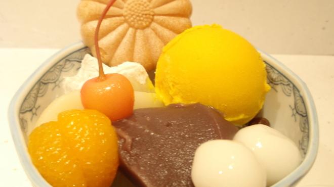 菊丸 - 料理写真:北海道かぼちゃあんみつ ¥790