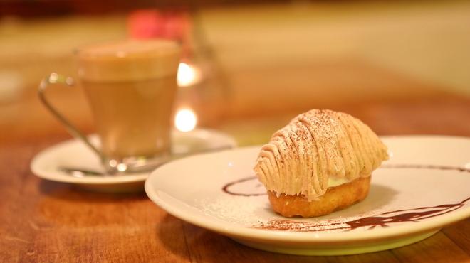 ニド・カフェ - 料理写真:モンブラン