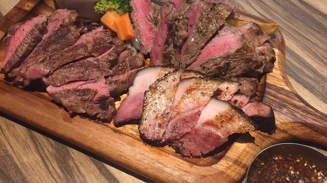 ステーキ屋 暖手 - 料理写真:肉盛りプレート