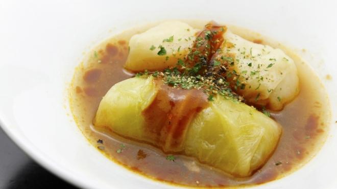キタバル - 料理写真:【12月のBAL-ODEN】ロールキャベツ デミグラスソース 350円