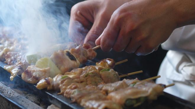 炭火串焼びんすけ - 料理写真: