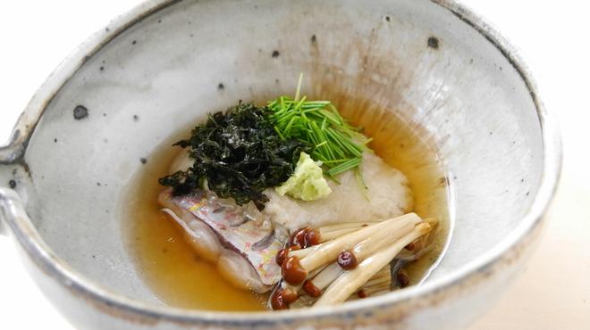 そば会席 立会川 吉田家 - 料理写真:糸撚の信州蒸し